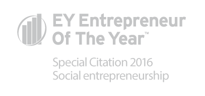 EY Enterpreneur Of The Year, Special Citation 2016 Social entrepreneurship